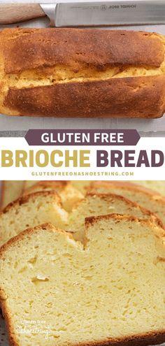 Gluten Free Artisan Bread, Wheat Free Bread, Yeast Free Breads, Gluten Free Pastry, Gluten Free Treats, Gluten Free Baking, Dairy Free Recipes, Gluten Free Homemade Bread, Gluten Free Quick Bread