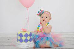 Birthday Cake Smash Tutu Dress Set by StrawberrieRose on Etsy, $59.95