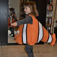 View details for the pattern Children's Clown Fish Costume 01/2014 #146 on BurdaStyle.