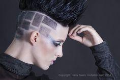 Salon: Hans Beers Hair Stage -  Model: Claudia - Hair: Hans Beers - Make-up: Emma de Rooij - Photography: Hans Beers