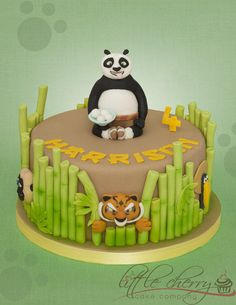Kung Fu Panda and the Furious 5 - Cake by Little Cherry - CakesDecor