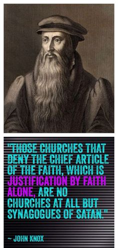 John Knox was a Scottish minister, theologian, and writer who was a leader of the country's Reformation. He is the founder of the Presbyterian Church of Scotland. Biblical Quotes, Jesus Quotes, Bible Verses, 5 Solas, Grace Alone, Protestant Reformation, Book Of Job, Soli Deo Gloria, Reformed Theology