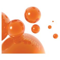 interesting background ❤ liked on Polyvore featuring backgrounds, orange, bubbles, fondos, pozadine and effects