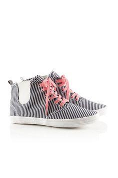 Gestreifte Sneakers von H