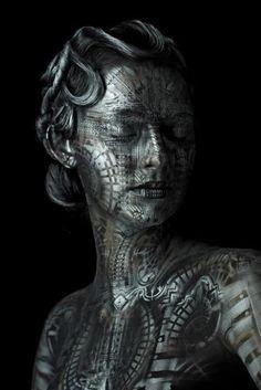 body-paintings par Michael Rosner