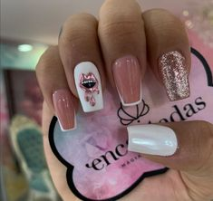 Hair And Nails, My Nails, Fire Nails, Gel Nail Designs, Cute Acrylic Nails, Nail Spa, Perfect Nails, Short Nails, My Beauty