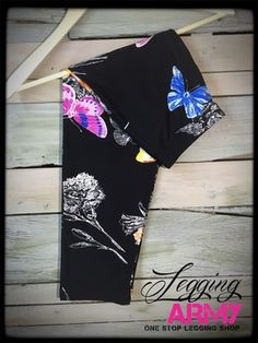 Flutter Night Capri  $16 leggings that give LuLaRoe a run for their money! I swear they are softer and even more comfortable! AND they aren't see through!  I've died and gone to heaven!