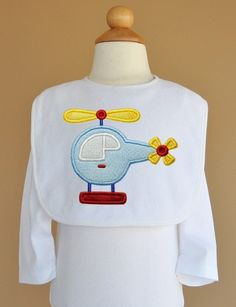 Helicopter Applique 4 Sizes Machine Embroidery by FiveStarFonts, $3.99