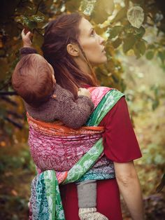 Shire Cormare baby wrap made for the Middle Earth Collection by Oscha  Slings from organic combed f7162474d7c