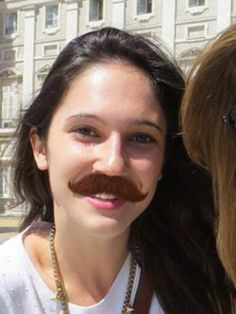 Lodo with a moustache