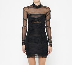 Les Chiffoniers Black Dress | VAUNTE Absolutely stunning!