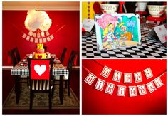 Queen of Hearts party