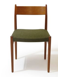 Six Arne Vodder Danish Teak Dining Chairs | From a unique collection of antique and modern dining room chairs at https://www.1stdibs.com/furniture/seating/dining-room-chairs/