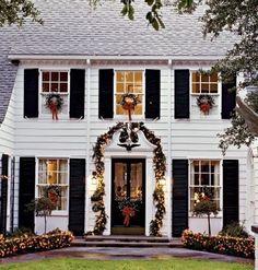 christmas porch decor - Google Search tis-the-season