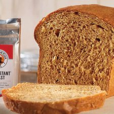 Old-Fashioned Oatmeal Bread: King Arthur Flour: A soft, fragrant loaf bursting with oats and molasses.