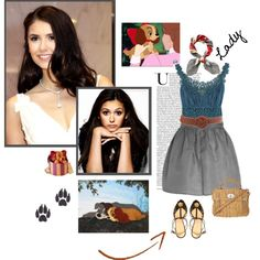 Lady - (Lady and the Tramp), created by psiche-olga on Polyvore