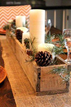 5 Ideas simples #DIY para decorar #Navidad y tu mesa. #Decoracion #HomeDecor #Christmas