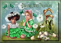Les cartes de Pâques - Chez EvE...L'autre côté du Miroir