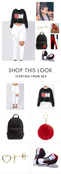 """""""Untitled #60"""" by oirkell on Polyvore featuring WithChic, Rip Curl, MICHAEL Michael Kors, Estella Bartlett, NIKE and Casetify"""