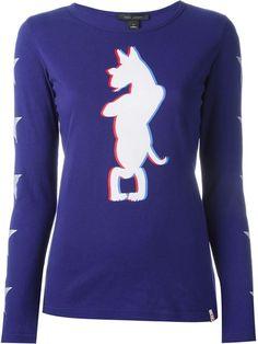 Marc Jacobs 'Neville' long sleeve T-shirt
