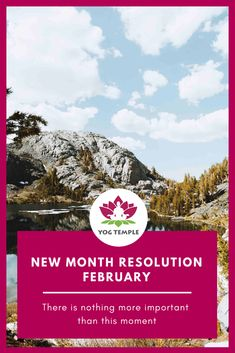 Live in the Now - New Month Resolution February - Yog Temple Here And Now, Live In The Now, Ayurveda, The Time Machine, Yoga School, New Month, Yoga Teacher Training, Yoga Retreat, Self Help