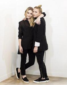 Olsens in all black and superga