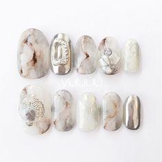 Nail Art Designs Videos, Gel Nail Designs, Japan Nail Art, Gel Nails, Manicure, Shoe Tattoos, Daily Nail, Minimalist Nails, Nail Set