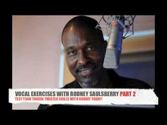 Voice-Over expert and best selling author Rodney Saulsberry shares his vocal warm ups and tongue twister skills Voice Acting, The Voice, Don Lafontaine, Vocal Warm Up Exercises, Vocal Warmups, Julie Williams, Tongue Twisters, Workout Warm Up, Coaches
