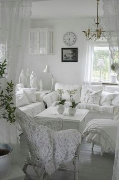 all white living room beautiful to look at i could have a room like this one if i lived alone