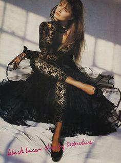 Fashionable 1980's- Paulina Porizkova