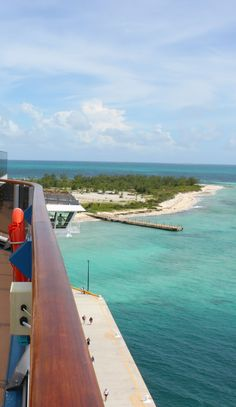 View of Grand Turk, Bahamas from a cruise ship