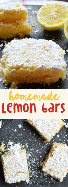 These lemon bars are a family classic favorite! Bu…