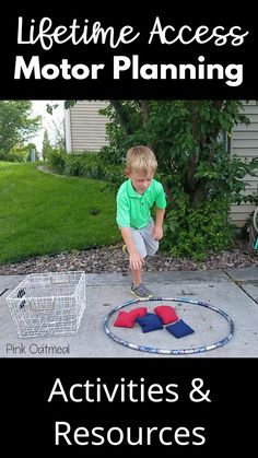 Gross Motor Ideas Gross motor and fine motor ideas and activities with lifetime access to videos, resources, and planning ideas. This is a fabulous opportunity for teachers, therapists, and parents to have all of their movement ideas done for them. Physical Activities For Kids, Motor Skills Activities, Movement Activities, Preschool Learning Activities, Indoor Activities, Sensory Activities, Therapy Activities, Preschool Activities, Kids Learning