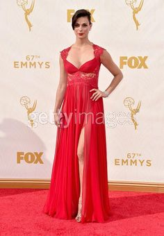 Thank you @Reem_Acra for one of the most beautiful dresses a girl could dream of. Morena Baccarin Emmy's 2015
