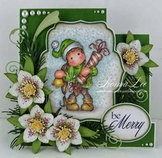 From My Craft Room: Be Merry - Magnolia-licious 'No DP' Challenge