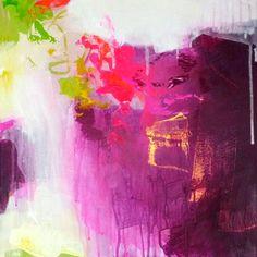 Original abstract painting, modern art, acrylic painting, paintings, pink neon magenta painting, canvas painting, art painting, ABSTRACT ART on Etsy, €96,63