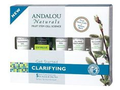 Andalou Naturals Get Started Clarifying Kit - Not just for him! Great ingredients, mild fragrance, and gets the job done!
