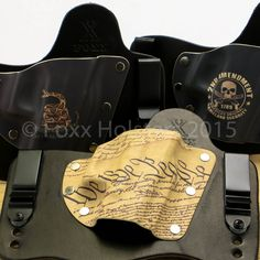 New Kydex Patterns, Don't Tread on Me, 2nd Ammendment & We the People now available @FoxXHolsters.com