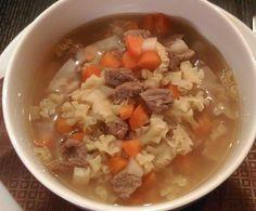 Rezept Rindfleischsuppe mit Nudeln ... all in one von Little_Mami - Rezept der Kategorie Suppen