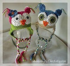OWLY is sooo cute earflat hat Boy or Girl