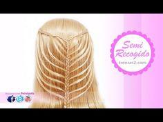 Peinados Faciles Bonitos con Trenzas para Niña Cabello Largo