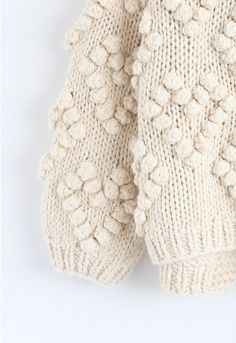 Knit Your Love Cardigan in Ivory - Sweaters - TOPS - Retro, Indie and Unique Fashion Unique Fashion, Fashion Ideas, Knitting Designs, Knitting Patterns, Boro Stitching, Cozy Fall Outfits, Yarn Ball, Crochet Art, Retro
