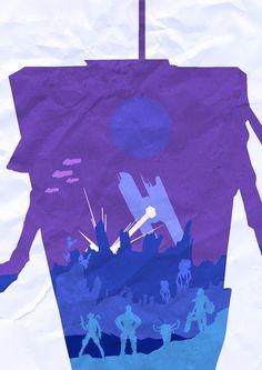 Borderlands : The Pre Sequel Poster by LandLCreations on deviantART