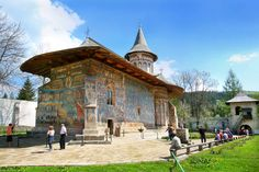The Amazing Monasteries and Abbeys of Europe - Visit Europe Romania Tourism, Sistine Chapel, Historic Homes, Adventure Travel, Places To See, Facade, Gazebo, Cathedral, Tours