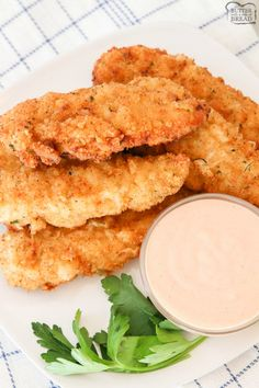 Best Chicken Tenders recipe for tender, juicy flavorful chicken. Two simple tips to take your chicken strips from good to great! Shows how to make chicken tenders from scratch! Best Chicken Strip Recipe, Homemade Chicken Strips, Fried Chicken Strips, Chicken Tender Recipes, Chicken Breast Strips Recipes, Mc Chicken, Chicken Lasagna, Chicken Flavors, Chicken Meals