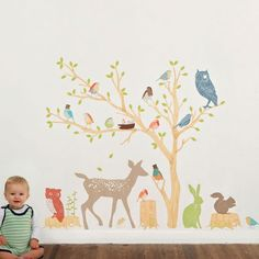 reusable fabric stickers - playroom
