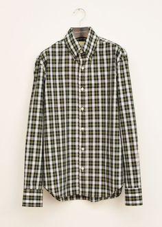 Le Bac Plaid Oxford Shirt $212