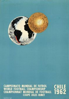 1962 FIFA World Cup official poster