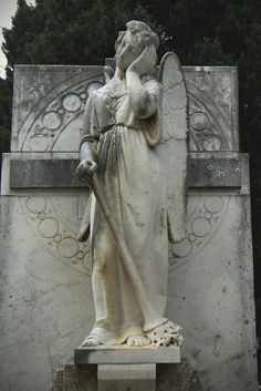 Cold Comfort by DamaInNero on deviantART Another beautiful tomb from the cemetery of Usini, Italy.