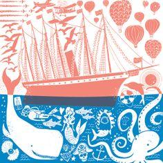 Screenprint Calendar Illustration by Chris Dickason   ILLUSTRATION AGE